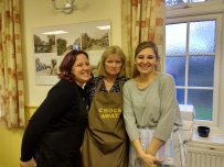 Nikki, Glynis and Jane